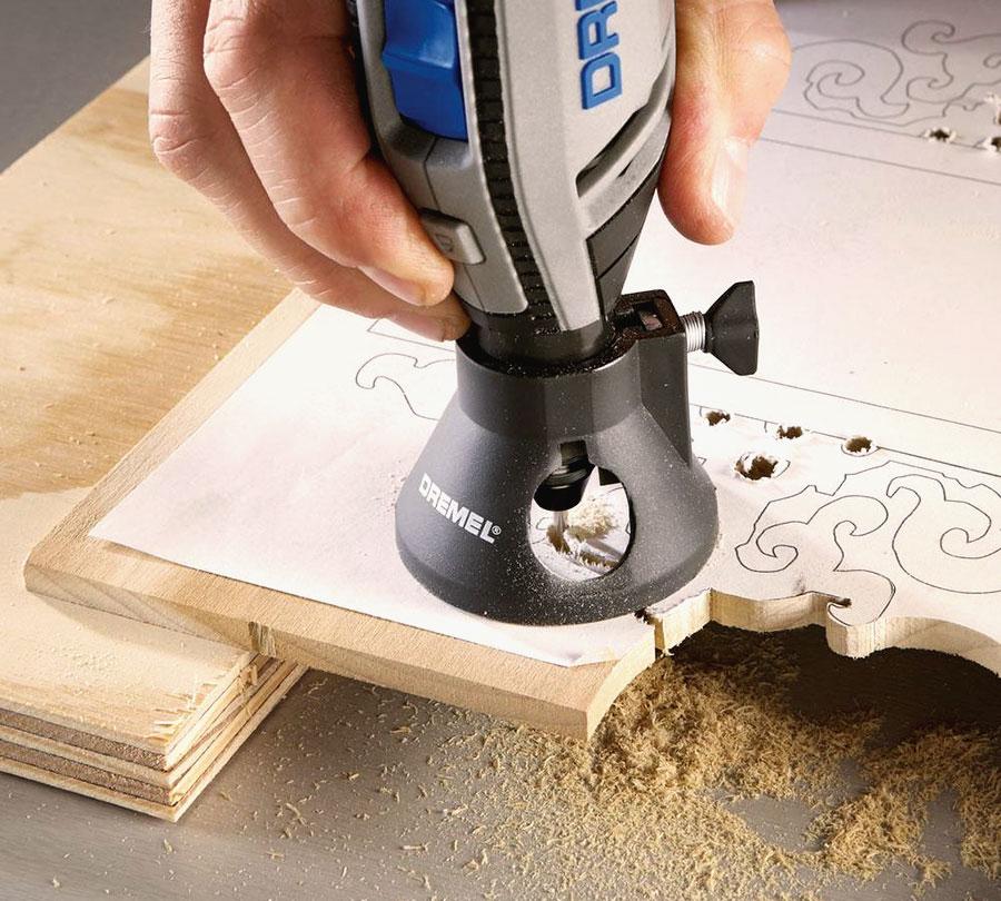 reproduire dessin bois accessoire dremel